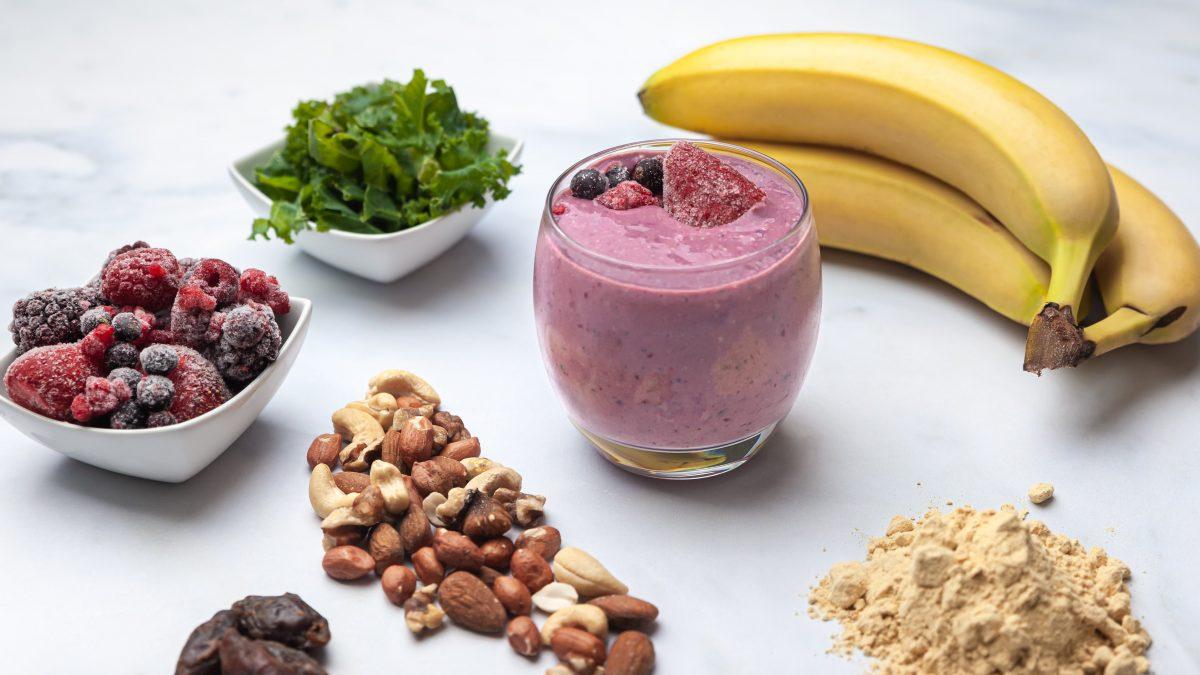 Micronutrient & fibre rich smoothie